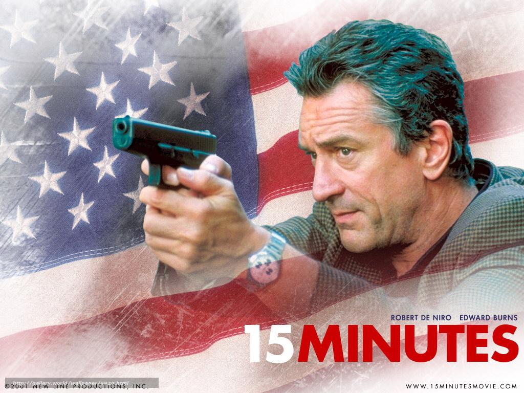 """רוברט דה-נירו עונד שעון רולקס בסרט """"15 דקות"""""""